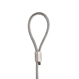 STAS steel cord with loop