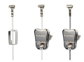 Modern picture rail hooks