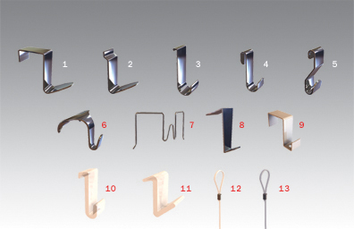 Stas Panel Hooks Partition Wall Panel Hooks Cubicle