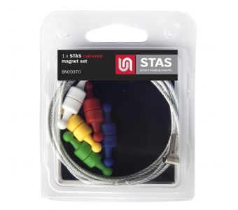 STAS coloured magnet set