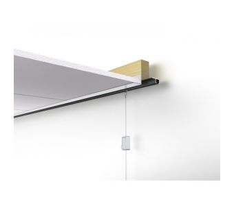 STAS u-rail - ceiling mounted picture hanging system