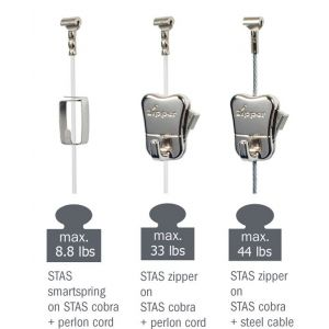STAS hooks and cords - combinations