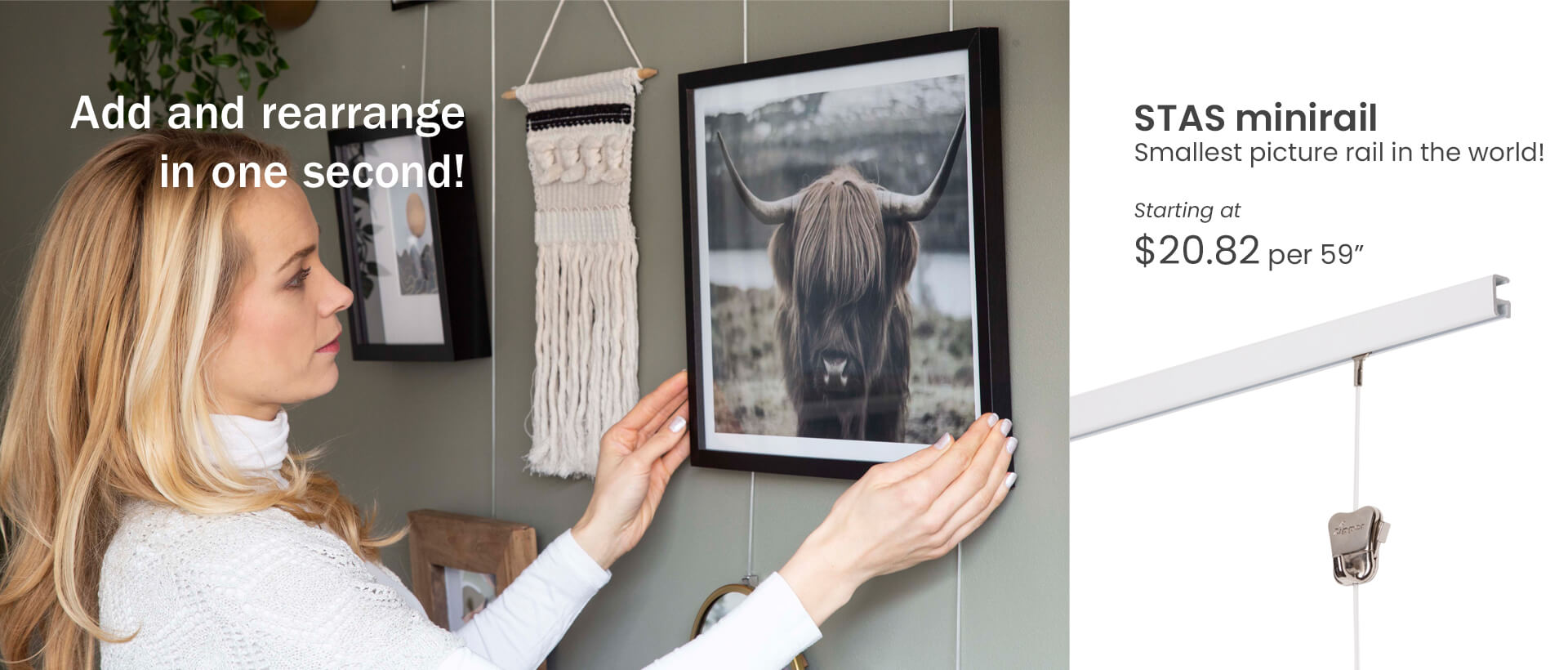 STAS picture hanging system