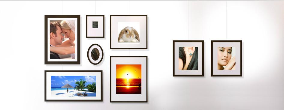 ideas for hanging photos without frames - Inspiratie & voorbeelden