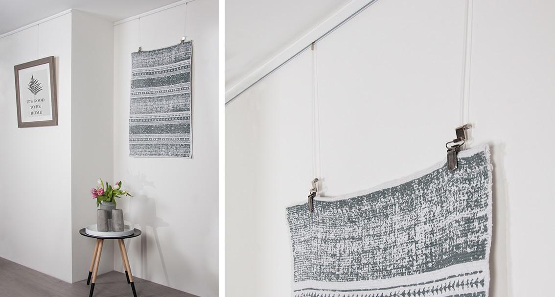 Stas Quilt Hanger Set Textile Decorations Can Be Hung
