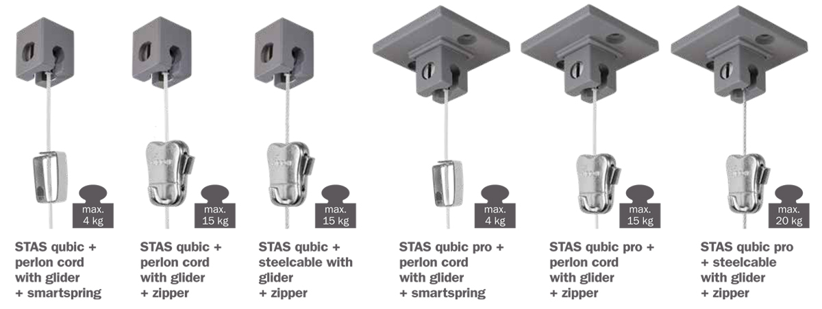 STAS qubic hooks and cords