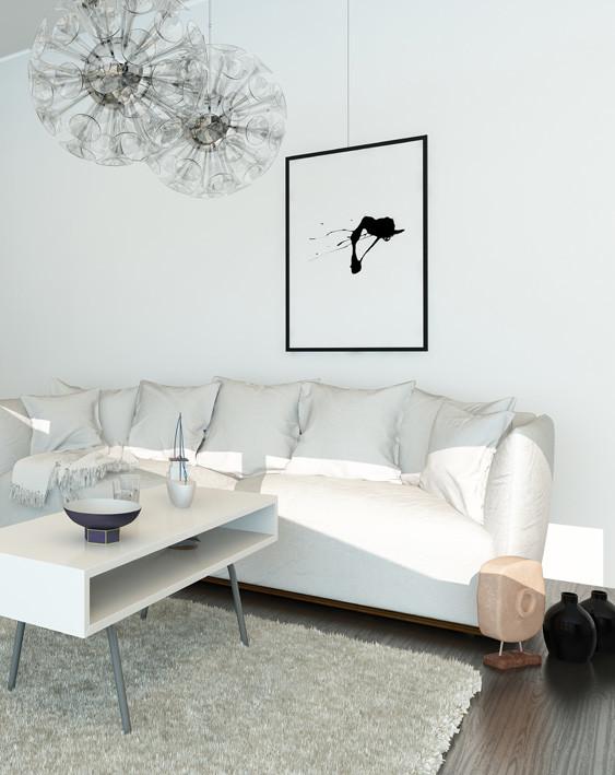 Artwork hanging system