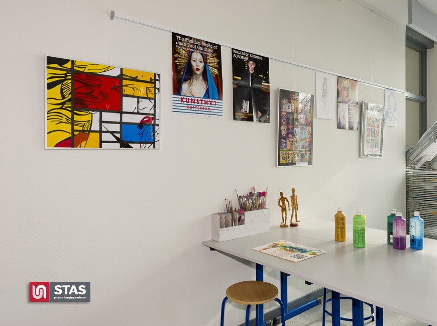 Stas Paper Rail Picture Display System Stas Picture